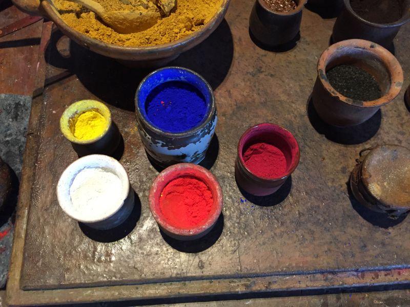 Farbpigmente zur Herstellung von Ölfarben