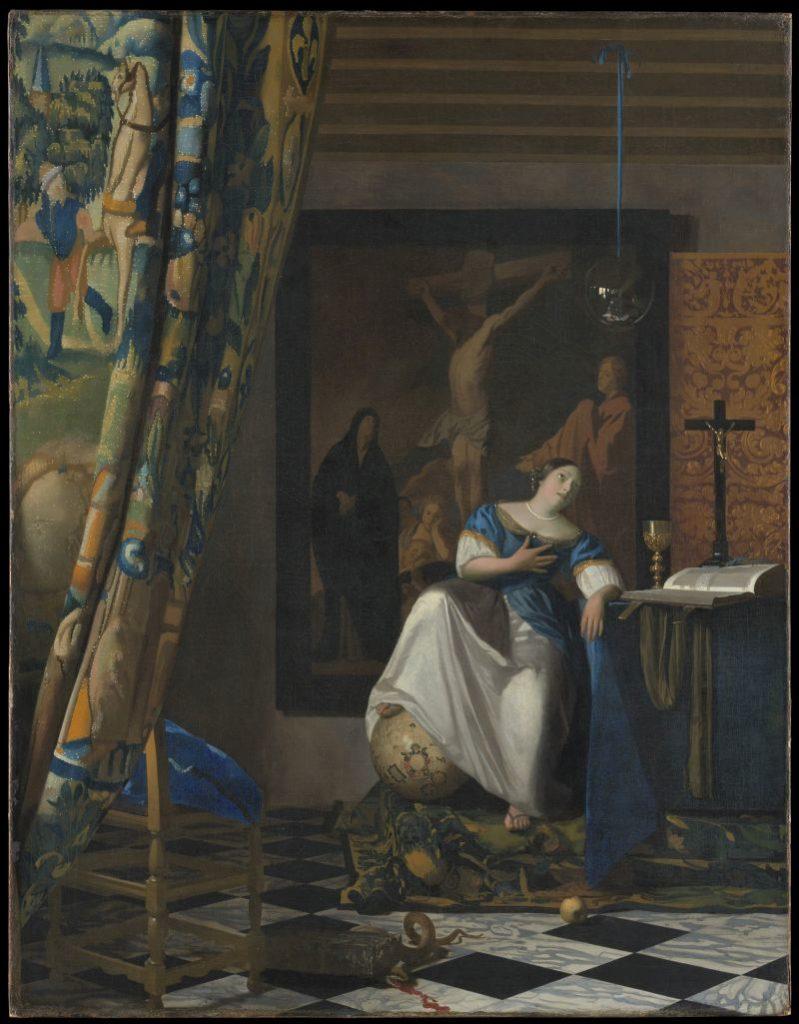 Gemaelde Allegorie des Glaubens von Johannes Vermeer