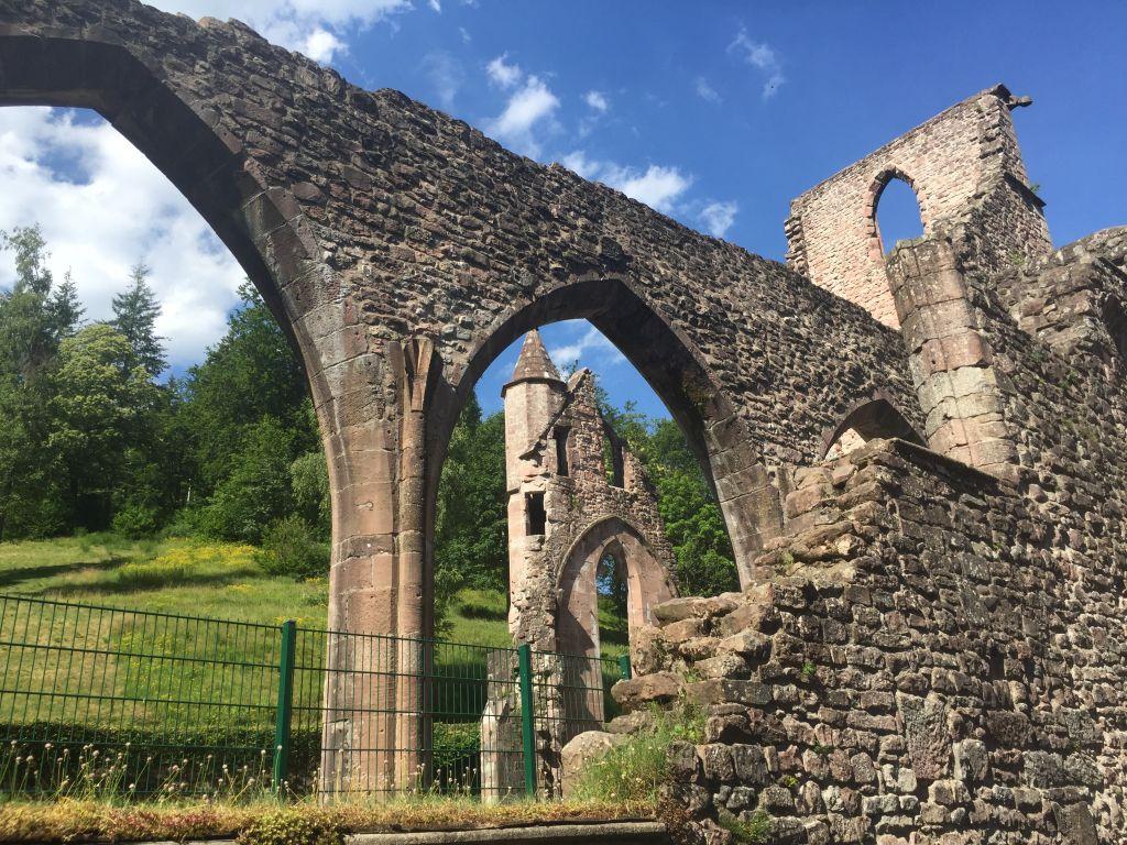 Klosterruinen Abtei Allerheiligen im Schwarzwald