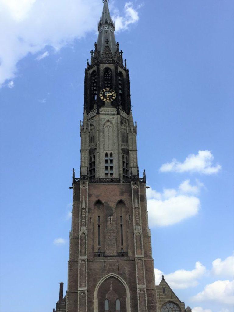Turm der Nieuwe Kerk in Delft