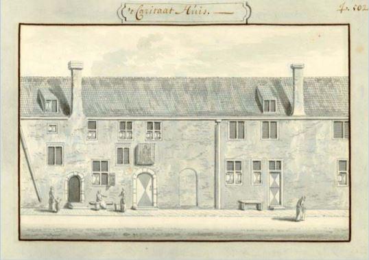 Bild der Kamer van Charitate, des Wohltaetigkeitshauses in Delft