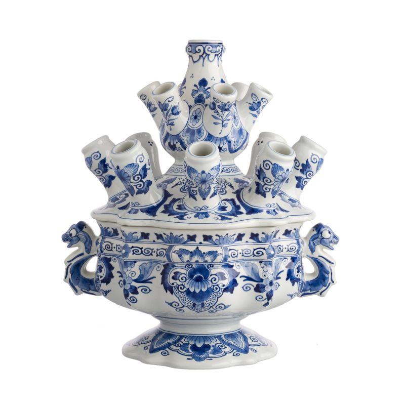 Tulpenvase aus Delfter Porzellan