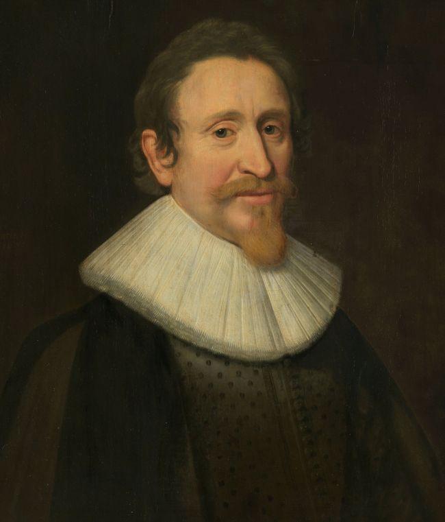 Portraet von Hugo Grotius (Hugo de Groot), Jurist, Michiel Jansz van Mierevelt (workshop of), 1631