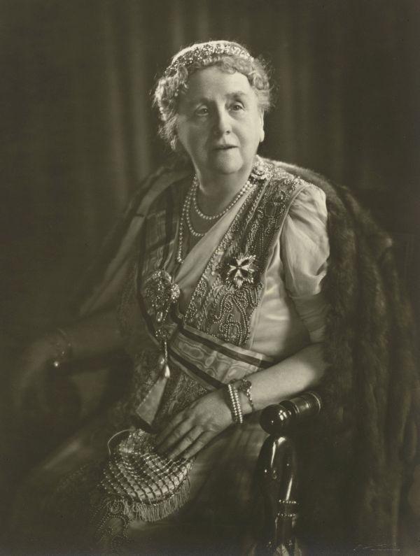 Foto Königin Wilhelmina der Niederlande 1948