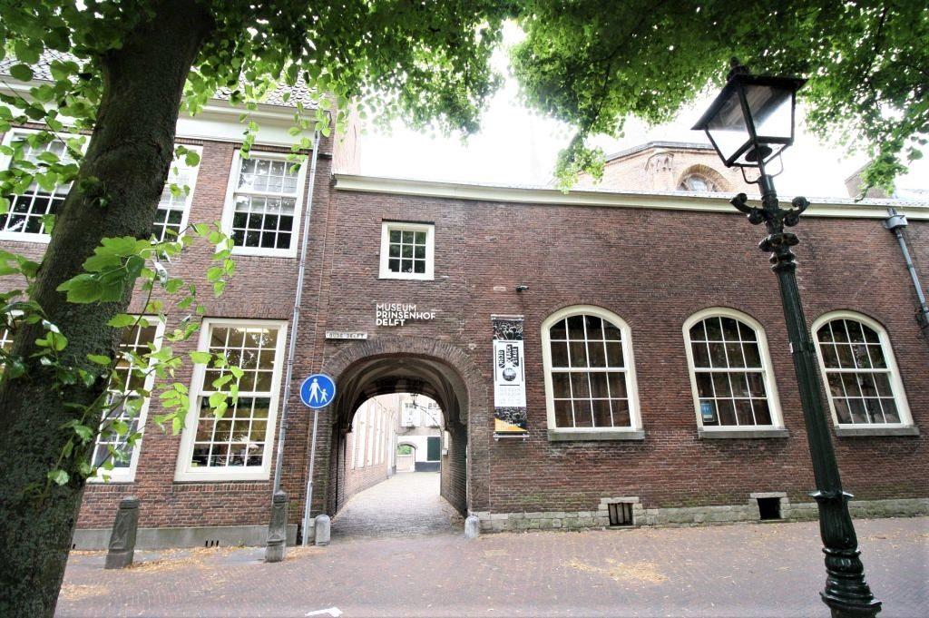 Eingang zum (Museum Prinsenhof) Prinzenhof von Delft
