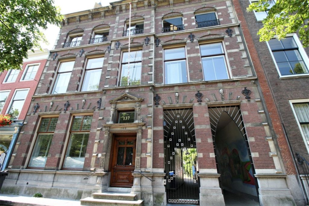 Haus in der Oude Delft 137 in Delft; vormals das Inde Gulden Mee Bael