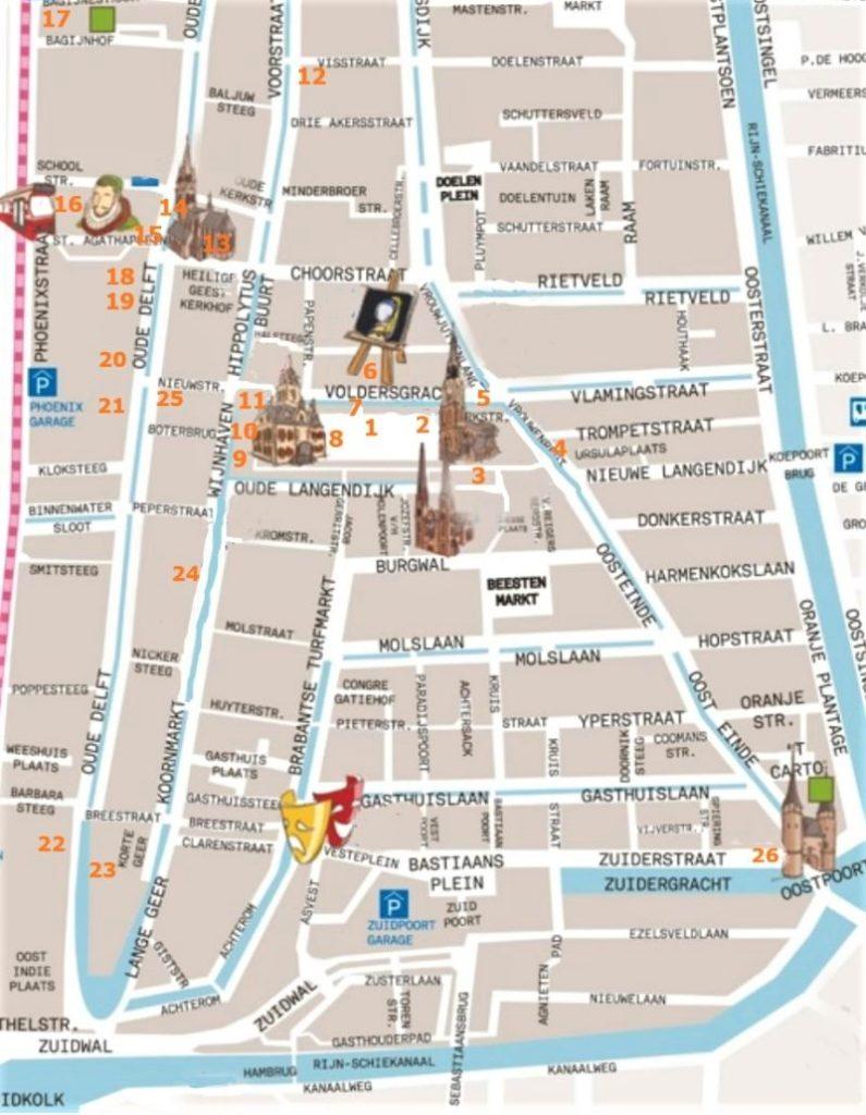 Delft - ein Spaziergang durch Raum und Zeit | In Reiselaune