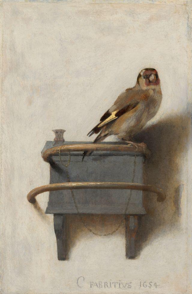 Der Distelfink; Carel Fabritius; Mauritshuis Den Haag