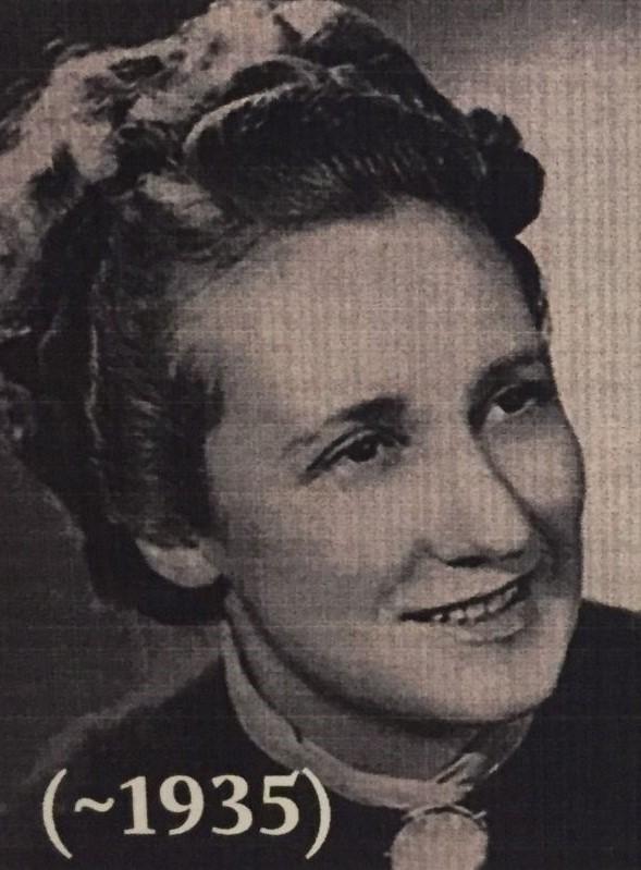 Louise Boitard Gille, eine franzoesische Widerstandskaempferin