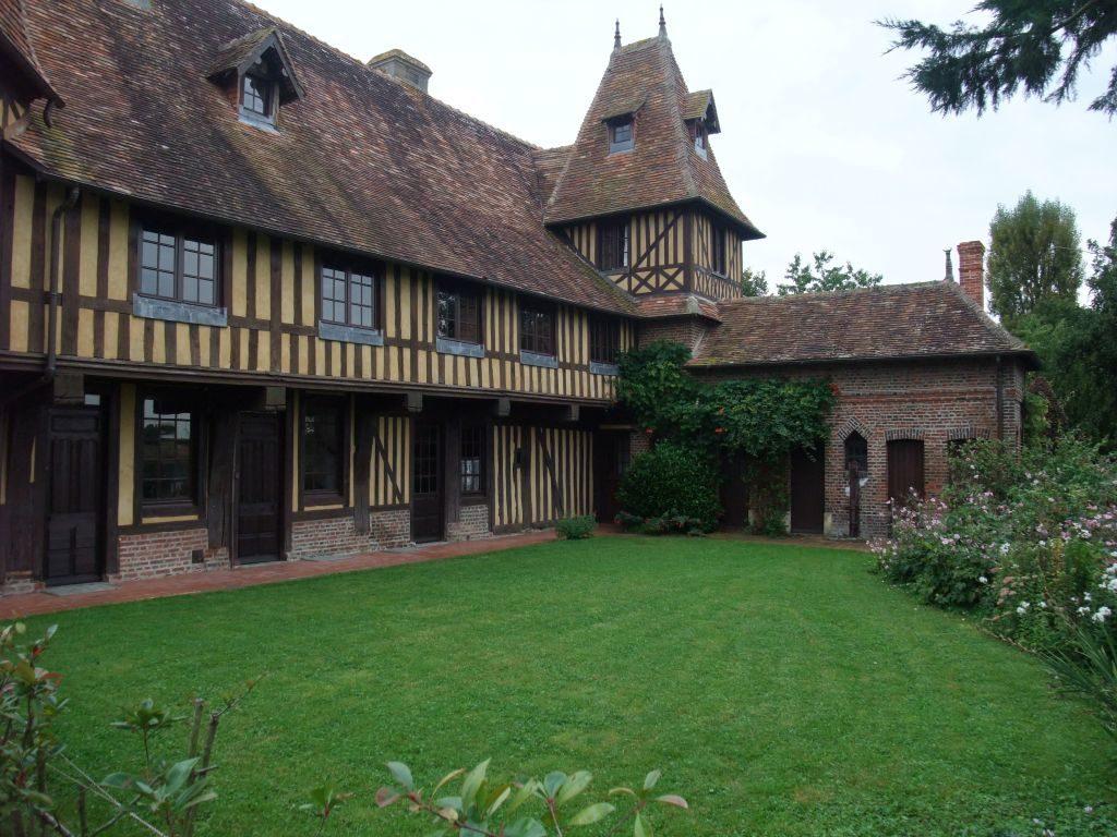 Normannisches Fachwerkhaus