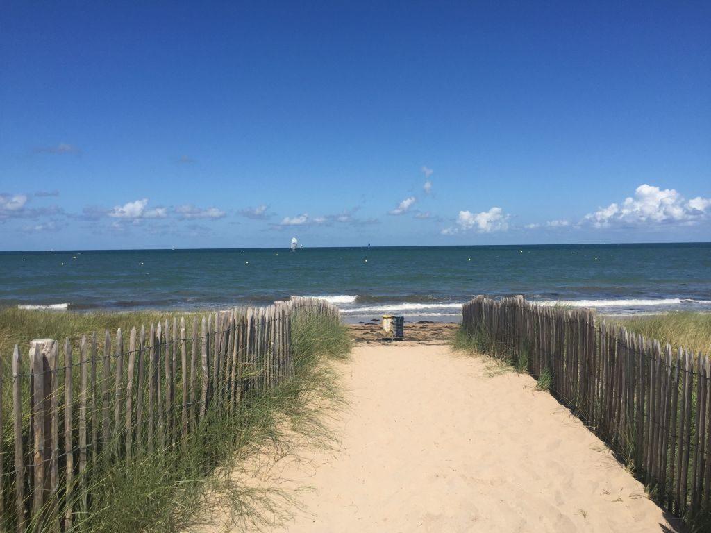 Strandansicht Normandie
