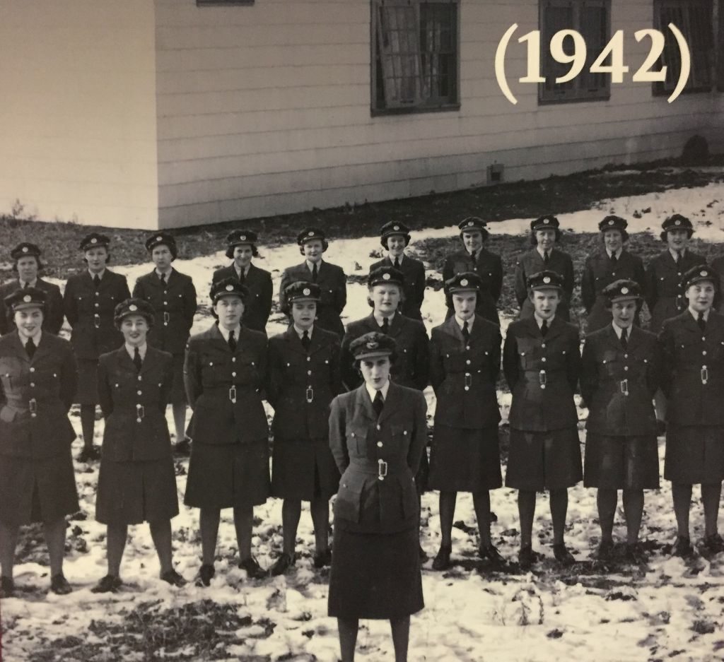 Frauen der Royal Canadian Air Force Women's Division 1942