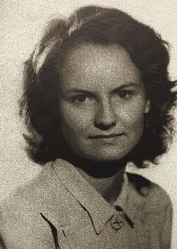 Sonya (Butt) d'Artois, eine englische Spionin waehrend des II. Weltkriegs
