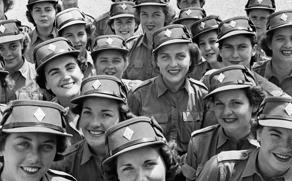Personal des Canadian Women's Army Corps 1944
