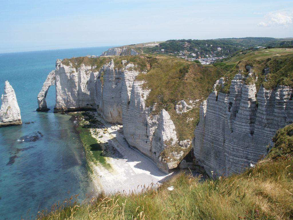 Kreidefelsen von Etretat in der Normandie