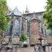 Blick auf die Oude Kerk (ALte Kirche) von Delft