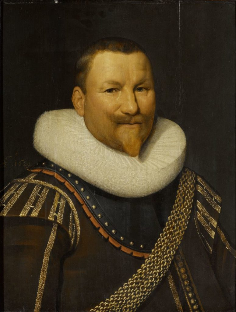 Portrait of Piet (Pieter Pietersz) Hein (1577-1629), Jan Daemen Cool (workshop of), 1629