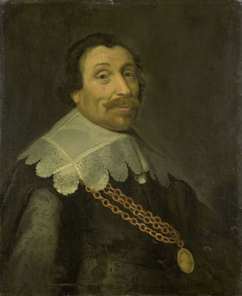 Portrait of Lieutenant-Admiral Maerten Harpertsz Tromp, Michiel Jansz van Mierevelt (workshop of), after 1640