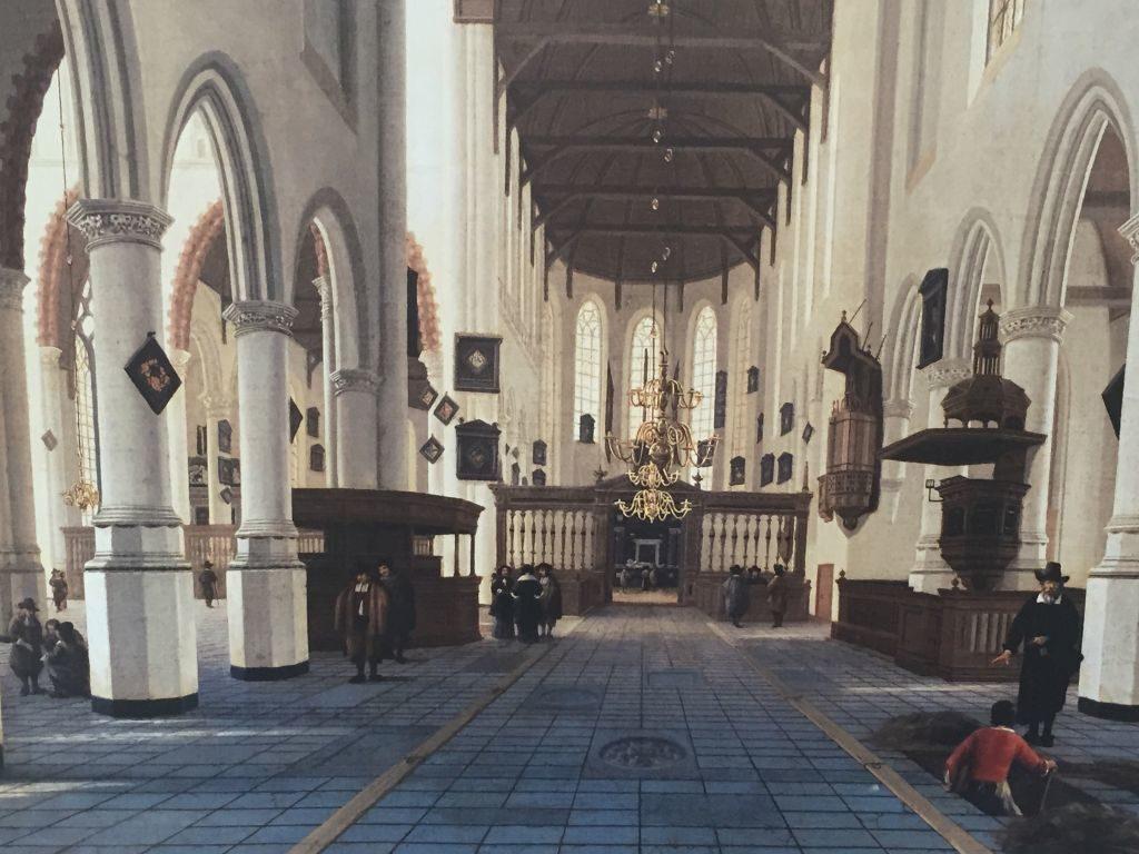 Hendrik Cornelisz van Vliet(1611 - 1675); Interior of the Oude Kerk, Delft (c.1660-70)