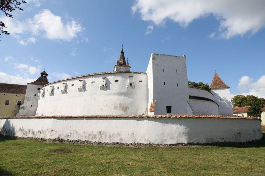 Kirchenburg von Honigberg in Siebenbuergen