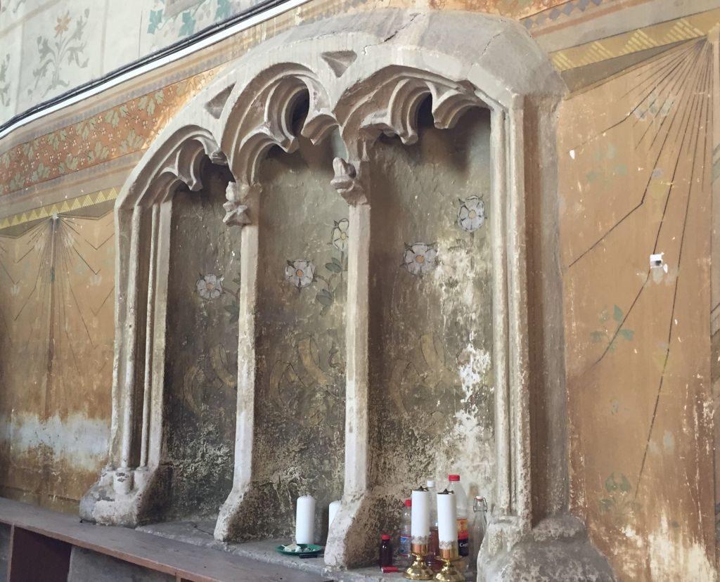Levithenstuhl in der Kirchenburg von Weidenbach (Ghimbav) in Siebenbuergen