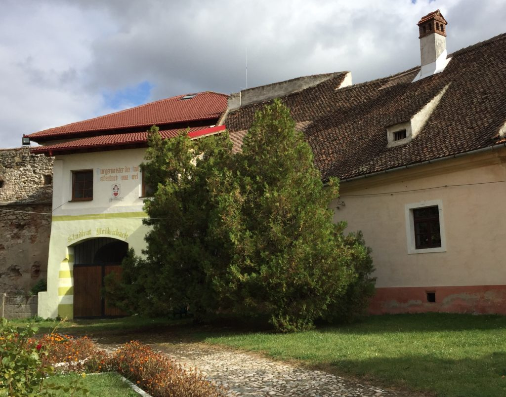 Rathaus von Weidenbach (Ghimbav) in Siebenbuergen