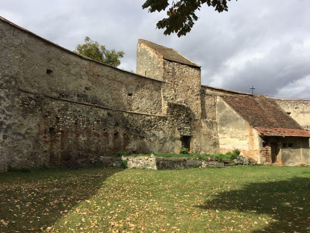 Ringmauer der Kirchenburg von Weidenbach (Ghimbav)