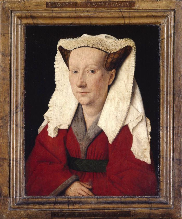 Portraet Margareta van Eyck von Jan an Eyck
