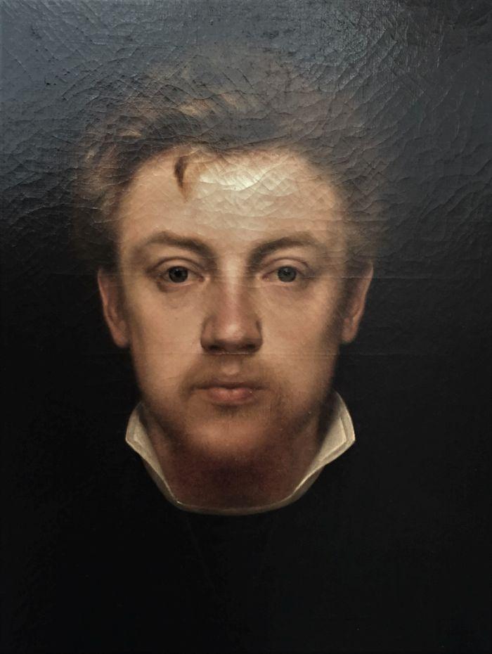 Selbstportraet Edmond van Hove