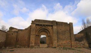Ruine der Kirche San Lorenzo in Uncastillo
