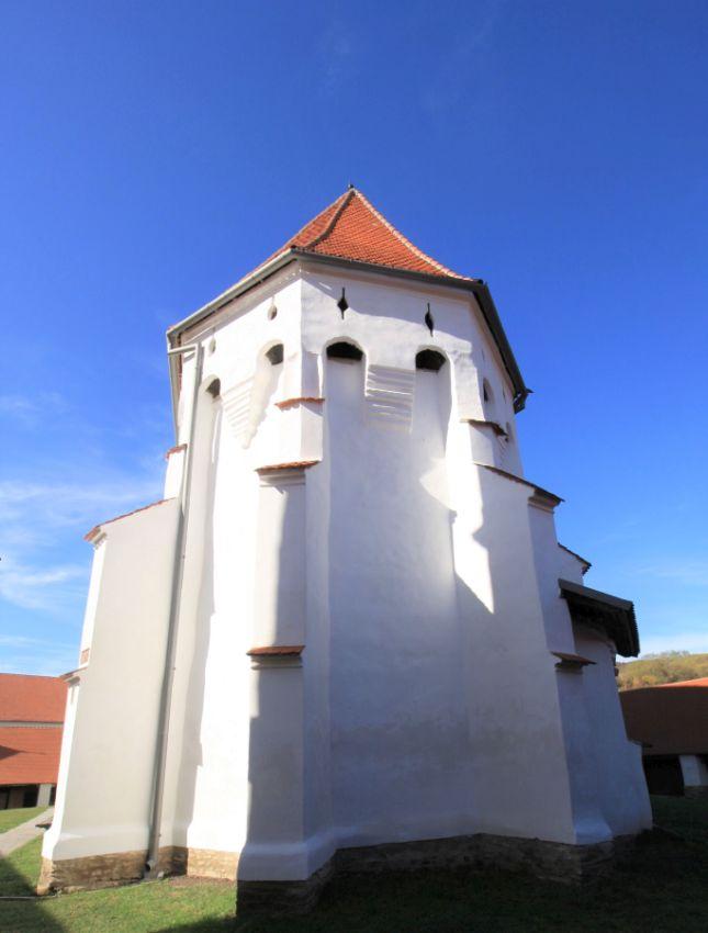 Chor der Wehrkirche von Dersch / Darjiu