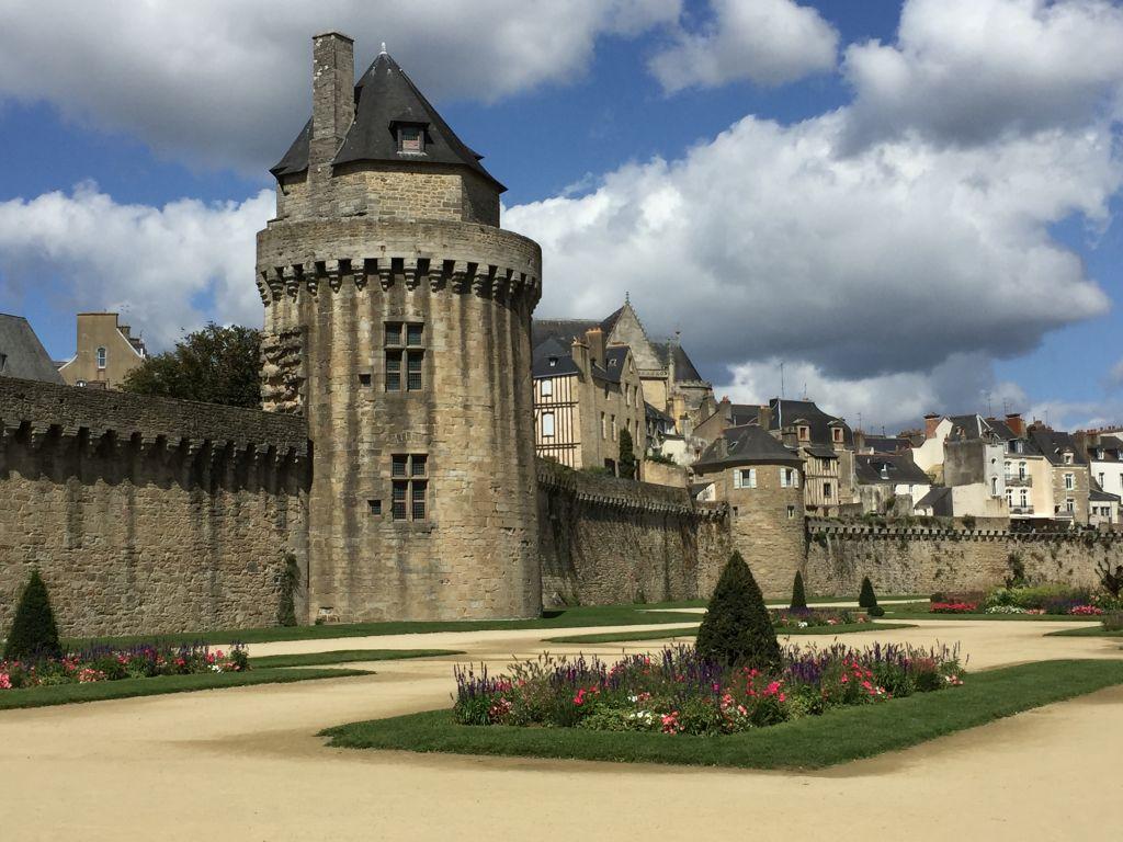 Tour du Connétable und Remparts (Stadtbefestigung) von Vannes