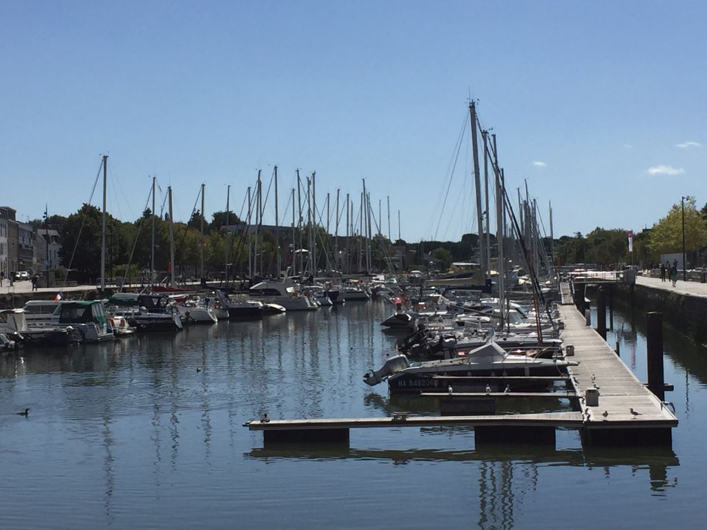 Yachthafen von Vannes