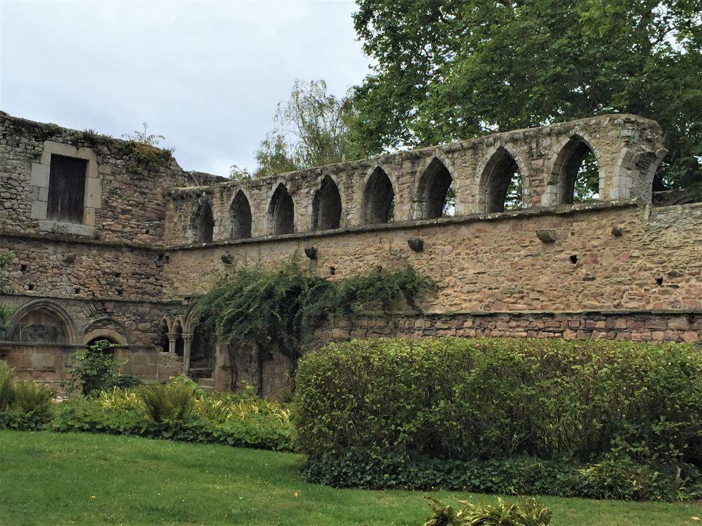 Kreuzgang der Abtei von Beauport an der Cotes d'Armor