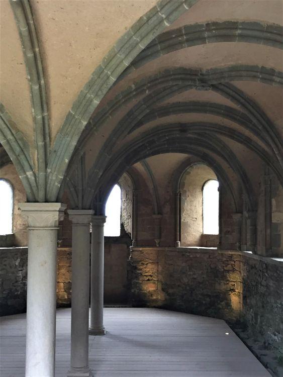 Kapitelsaal der Abtei Beauport, Bretagne