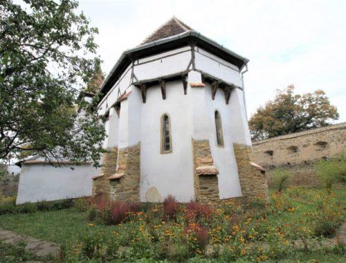 Chor der Wehrkirche in Kleinschenk / Cincsor, Siebenbuergen