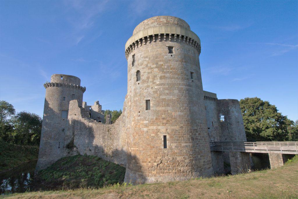 Chateau de la Hunaudaye, Cotes d'Armor, Bretagne