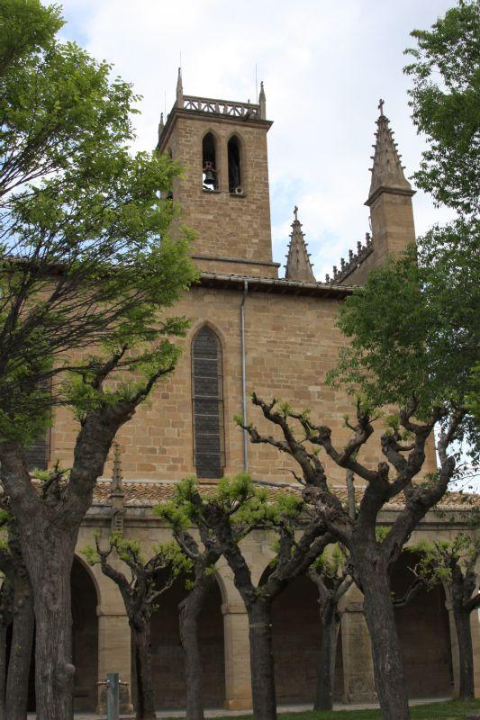 Kirche San Juan Bautista in Obanos