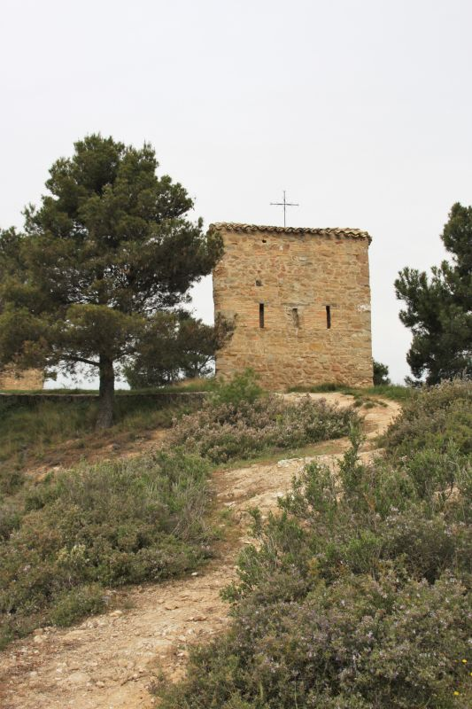 Steinhaus des Eremiten bei der Kapelle Arnotegui, Navarra