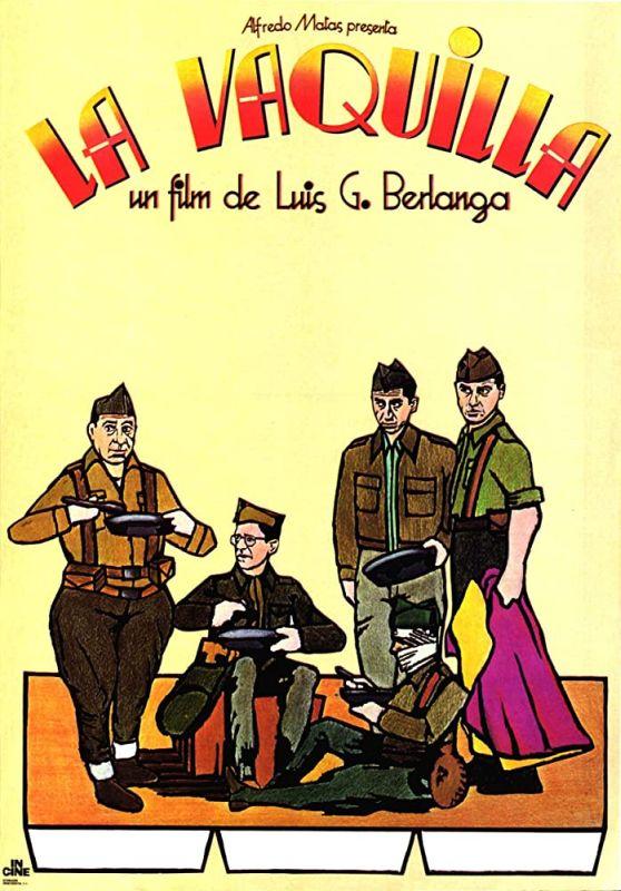Filmposter des spanischen Kinofilms La Vaquilla