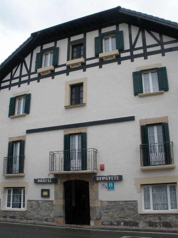 Hostal Burguete in Burguete/ Auritz in Navarra