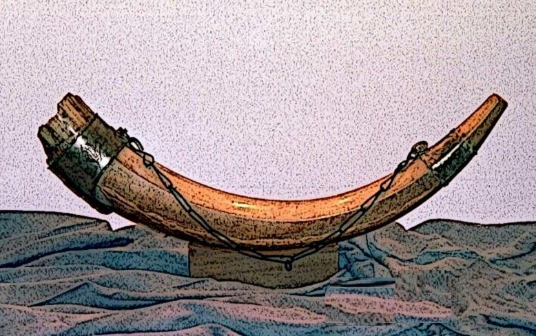 Olifant, das beruehmte Horn des Ritters Roland