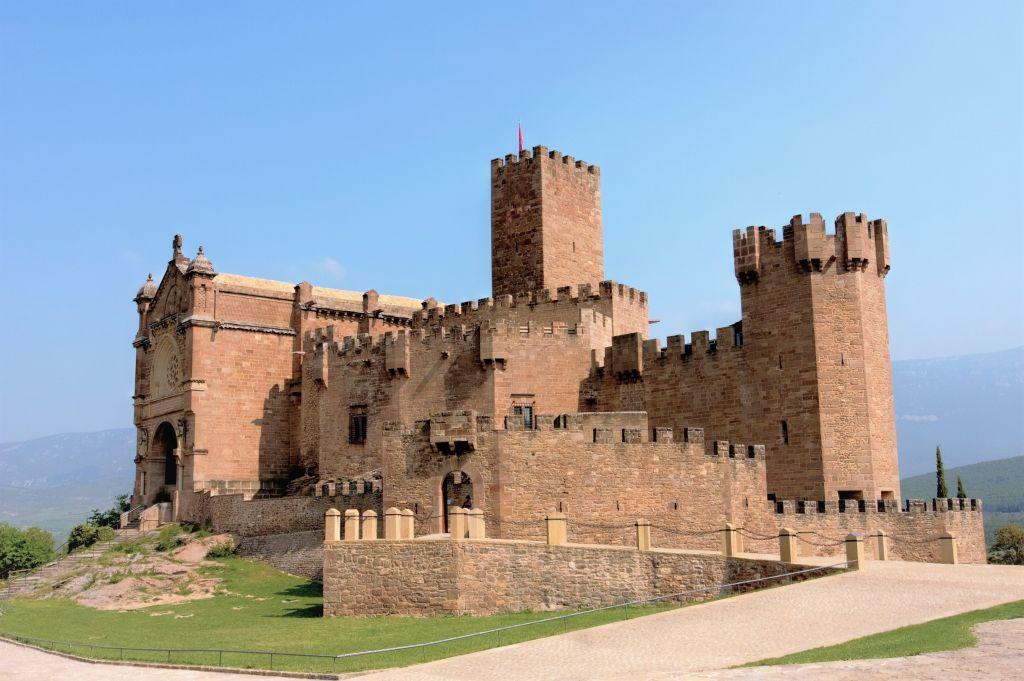 Die Burg und das Sanktuarium von Javier in Navarra