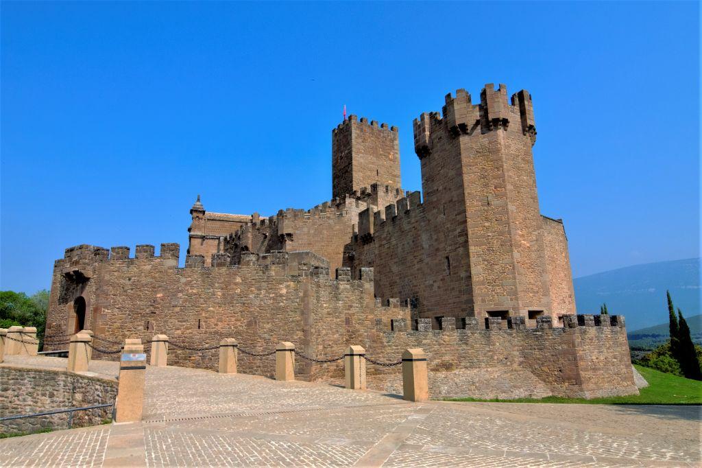 Befestigungskomplex der Burg von Javier