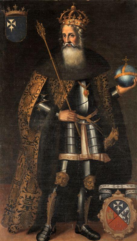 Gemaelde Sancho Garcés III El Mayor; Ariosto Felipe; 1634; Museo del Prado