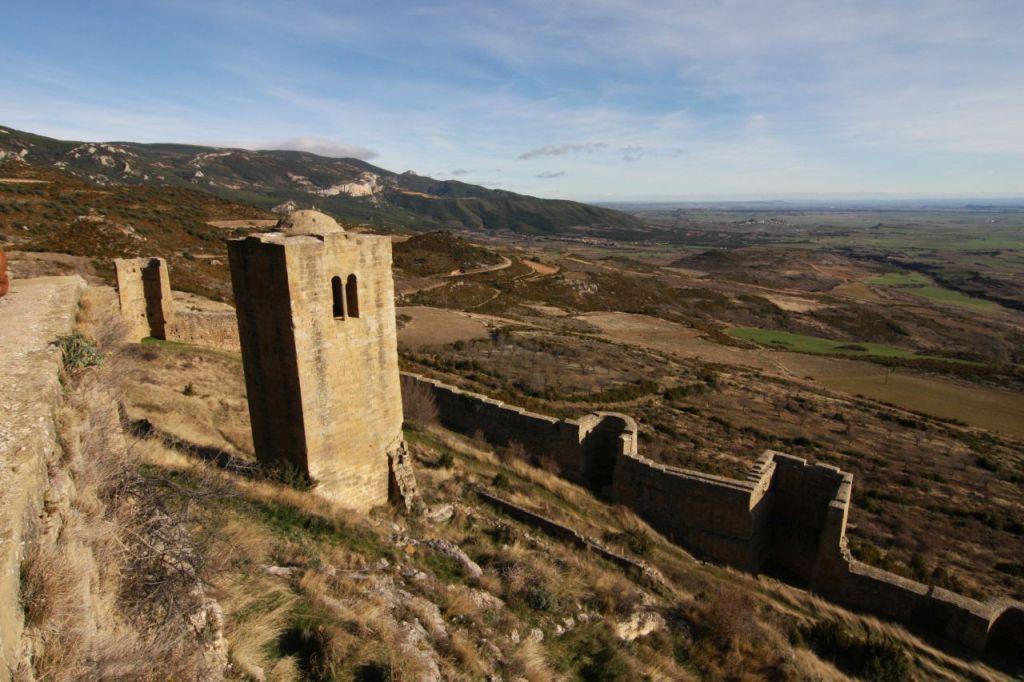 Der Torre de Albaran des Castillo de Loarre in Aragonien, Spanien