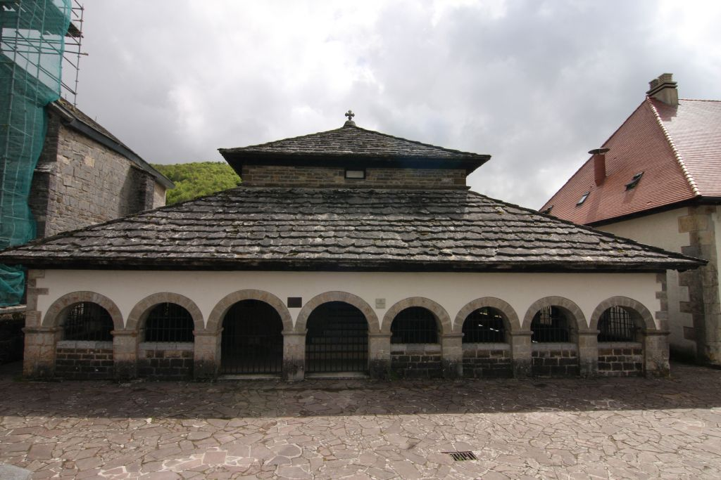 Silo de Carlomagno, romanische Grabkapelle
