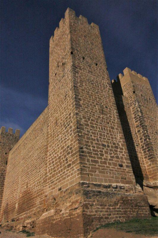 Eckturm des Castillo de Sadaba
