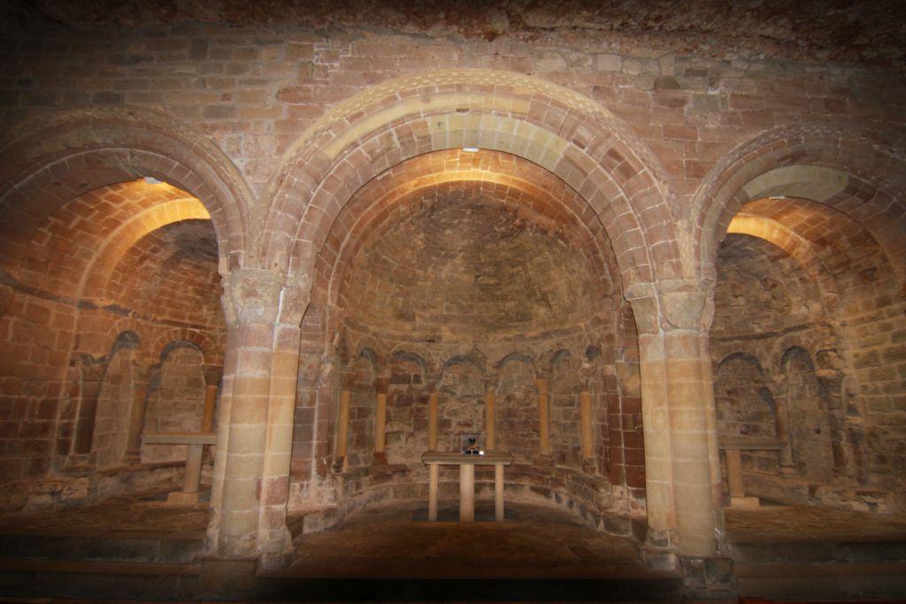 Chorraum der Oberen Kirche im Kloster San Juan de La Pena