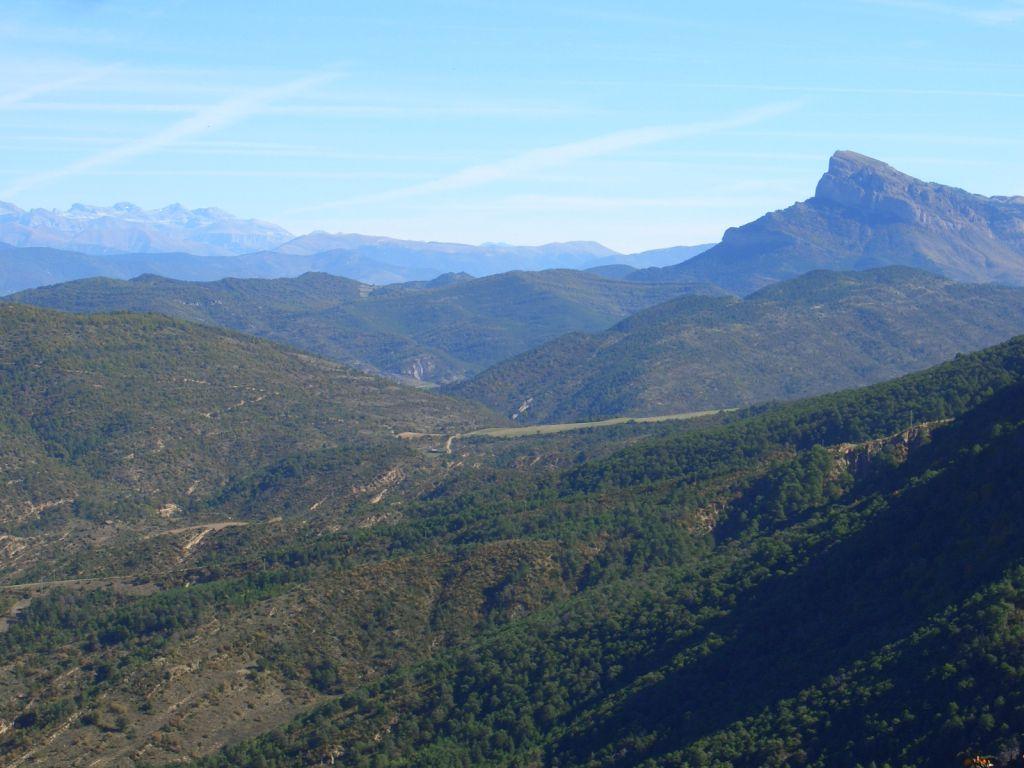 Wald- und Gebirgslandschaft in Nordspanien